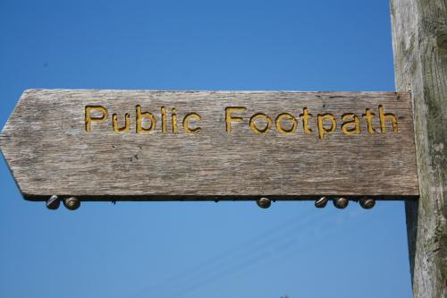 Public Footpaths in Pilling